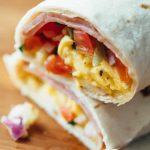Burritos au petit déjeuner qui sont congelés!