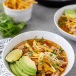 Recette instantanée de soupe de tortilla au poulet en pot
