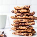 Biscuit aux pépites de chocolat cassant