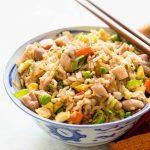 Recette de riz frit au poulet | SimplyRecipes.com