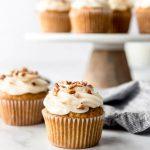 Cupcakes au gâteau aux carottes | Le critique de recettes