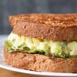 Sandwich à la salade aux œufs (avec Extra Zing!)