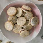Délicieux petits pistaches Alfajores | Blog des goûts frais