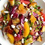 Salade de radicchio avec recette d'agrumes