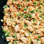 Mieux que du riz frit au poulet à emporter