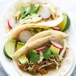 Recette de Tacos au poulet à la mijoteuse