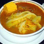 Recette salvadorienne de Sopa De Pata: soupe de pieds de vache