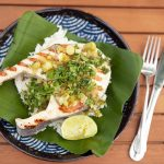 Escalopes de wahoo au gingembre et citron vert | Fruits de mer faciles