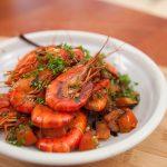 Crevettes de rivière poêlées | Dîners faciles