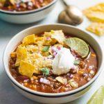 Recette de mijoteuse à la soupe de tacos
