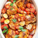 Poulet et pommes de terre au paprika en une seule casserole