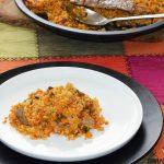 Riz au filet de porc ibérique au romarin, votre recette de riz pour dimanche prochain