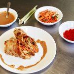Roulés de boeuf rendang roti | Recettes au curry