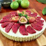 Cheesecake au citron vert, citron et macadamia | Desserts végétaliens
