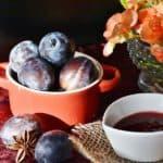 Sauce aux prunes, recette étape par étape