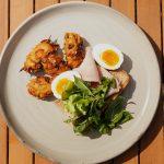 Pommes de terre rissolées avec des œufs durs | Petits déjeuners faciles