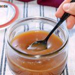 Caramel au beurre et sauce soja, délicieux pour le petit déjeuner, les desserts et les glaces