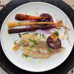 Corvina au four aux carottes et panais, une recette de poisson au four simple, légère et délicieuse