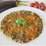 »Omelette d'aubergine - Recette d'omelette d'aubergine de Misya