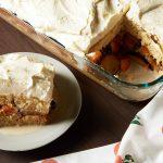 Cuatro leches gâteau aux prunes et abricots | Recettes de caramel