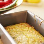 Gâteau de semoule salée | Cuisson saine