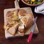 Couronne de brioche salée | Recettes de pain