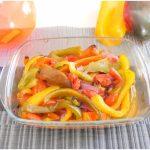 »Poivrons cuits au four - Recette de poivrons cuits au four Misya
