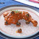 Poulet à la sauce romesco aux olives, une recette facile pour tremper le pain
