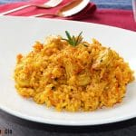 Casserole de riz à la Heura et au romarin, une recette à la 'viande végétale' qui satisfera tout le monde