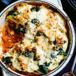 Saucisse à faible teneur en glucides «lasagne» |  Recettes de repas sains