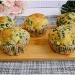 »Muffin aux épinards - Recette de muffins aux épinards de Misya