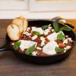 Ratatouille aux œufs au four |  Recettes de petit-déjeuner