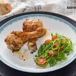 Recette de poulet épicé au cumin et paprika aigre-doux dans une friteuse à air