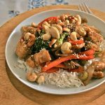 Recette de poulet thaï aux noix de cajou |  Atlas gastronomique de voyage