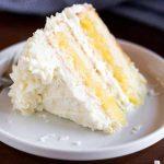 Le meilleur gâteau à la noix de coco - a meilleur goût à partir de zéro