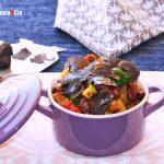 Ragoût rapide de haricots, soja texturé et légumes, une recette simple avec une touche gourmande
