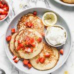 Crêpes à la ricotta et à la fraise et au citron - Un meilleur goût à partir de zéro