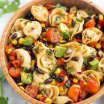 Salade de pâtes tortellini facile - A meilleur goût à partir de zéro