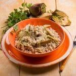 Riz aux artichauts et au citron: recette maison facile - Feeder