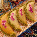 Katayef aux dattes et ricotta |  Recettes de desserts du Moyen-Orient