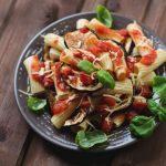 Préparez des pâtes à la ricotta alla norma: Receta italienne - Comedera