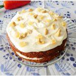»Gâteau aux carottes, noix et gingembre